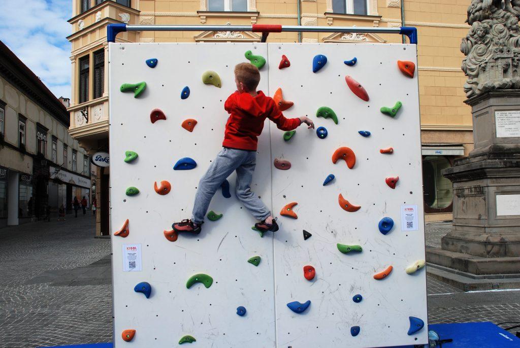 Plezalna stena Kreal E-Climber