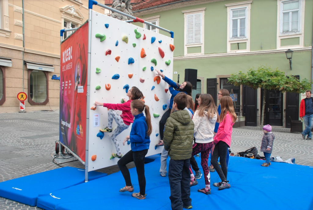 plezanje za otroke osnovnošolci