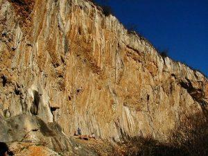 naravno plezališče Mišja peč