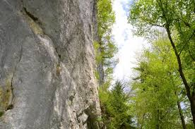 naravne plezalne stene v Sloveniji